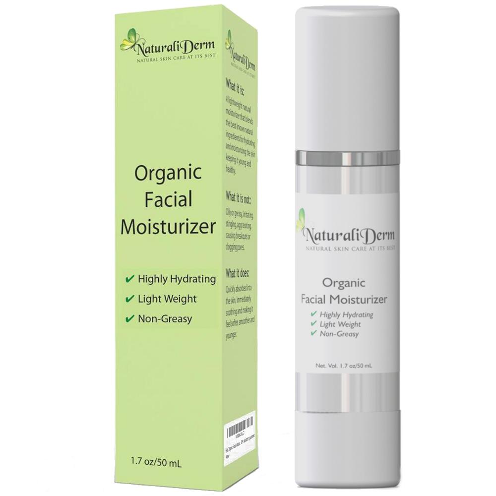 Orgqanic facial moisturizer